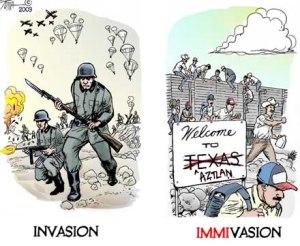 Immagrant Invasion